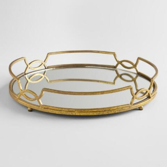 Anthropologie | NWT Mirrored Tray